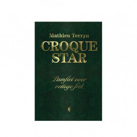 Boek 'Croque Star' van Mathieu Terryn