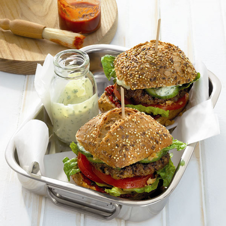 Grillburger (9 points)