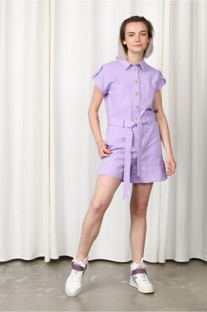 Lavendelkleurige playsuit