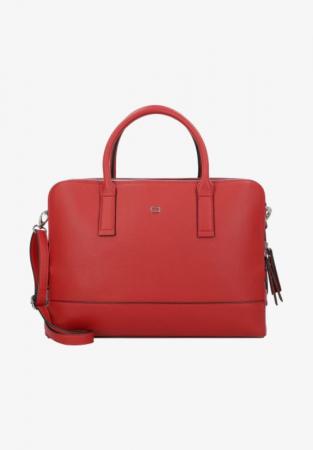 Rode handtas voor laptop