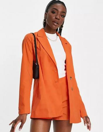 Oranje blazer