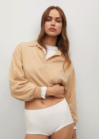 Pull-over style polo