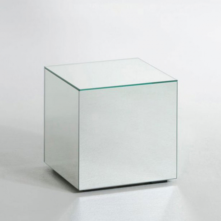 Table d'appoint en verre
