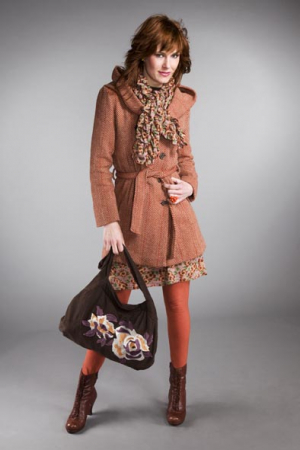 Enolah women Coat 247euro Dress 117euro Bag 62euro