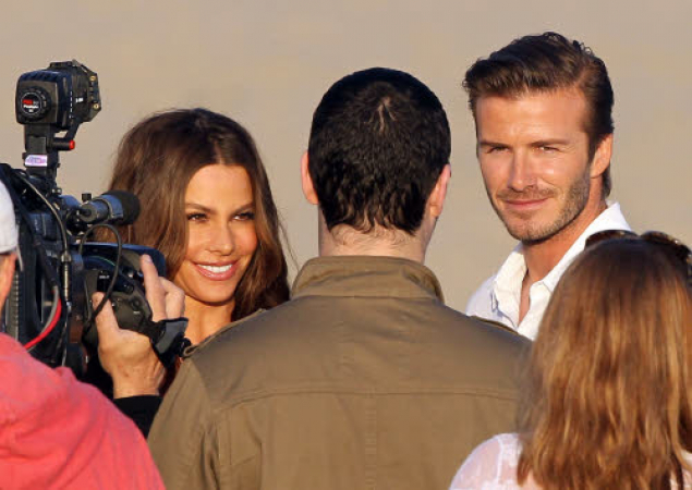 Reporters avid beckham and 3