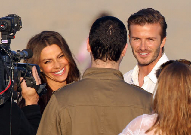 Reporters avid beckham and 2