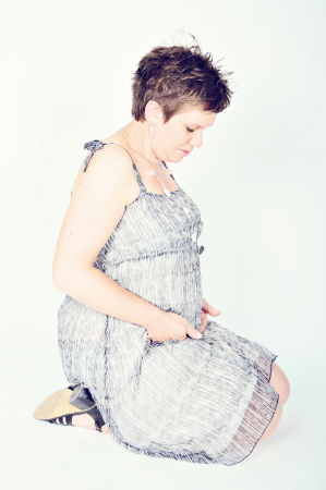 femme enceinte shooting siska (1)