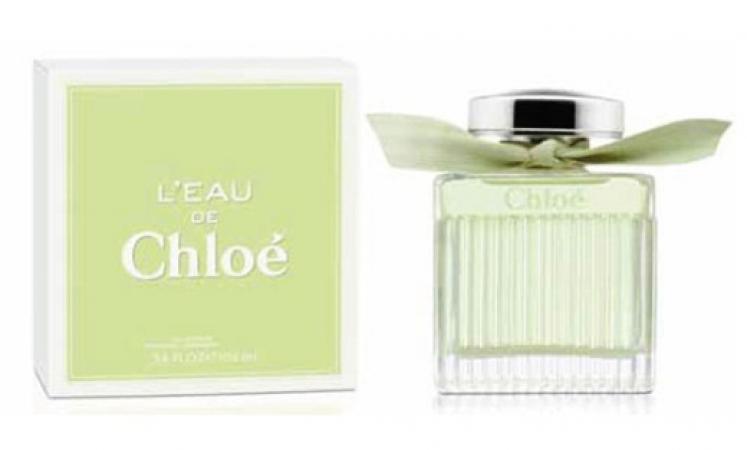 le parfum printannier de Chloe baptise L Eau pour femme