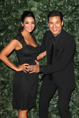 Mario Lopez & Courtney Mazza