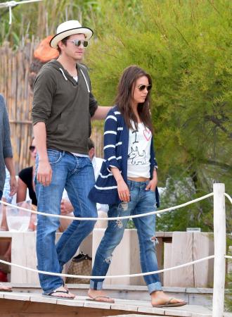 Ashton Kutcher en Mila Kunis