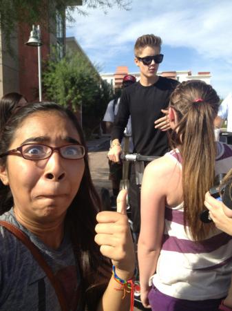 OMG, c'est Justin Bieber!