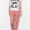Pyjama 'Santa says Relax'