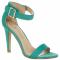 Sandalen turquoise – € 15