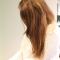 Cheveux lisses et démêlés