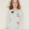 Sweater met patches
