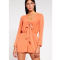 Playsuit met strik