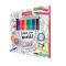 Kleurboek en stiftenset in één