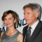 Calista Flockhart et Harrison Ford