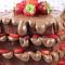 Waffle cake met Nutella