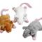 Petite souris + herbe à chat