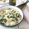 Dinsdag: pastasalade met kip en spinazie
