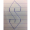 Overal ter wereld dat supercoole S-logo tekenen