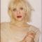 Zangeres Courtney Love VOOR