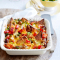 Donderdag: frenchtoastovenschotel met worst en paprika