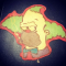Krusty the Clown uit 'The Simpsons'.
