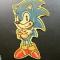 Sonic, van de spelletjes.