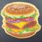 Een hamburger.