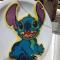 Stitch uit 'Lilo & Stitch'.