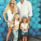 Maxwell en Ace, het dochtertje en zoontje van Jessica Simpson en Eric Johnson
