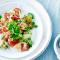Woensdag: kruidenpanzanella met witte spitskool, tomaten en lente-ui