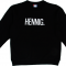 Zwarte sweater 'HENNIG'