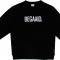 Zwarte sweater 'BEGAAID.'
