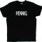 Zwart T-shirt 'HENNIG.'