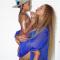 Beyoncé en haar dochter Blue Ivy
