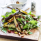 Woensdag: salade van aubergines met gekonfijte amandelen