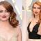 De koperkleurige lokken van Emma Stone en Emma Roberts
