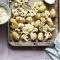 Woensdag: geroosterde bloemkool met amandelen, salie en aardappelen