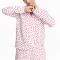 Pyjama met hartjesprint