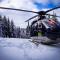 Le baptême en hélicoptère