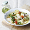 Minestrone et pesto aux épinards – 530kcal
