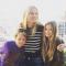 Apple et Moses, fille et fils de Gwyneth Paltrow et Chris Martin