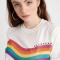T-shirt regenboog 'Daydream'