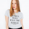 T-shirt « Women will save the world »