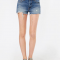 Cut-off jeansshort