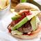 Maandag: Tex-mex-burger met avocado en nacho's