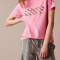 Roze T-shirt 'Candy'